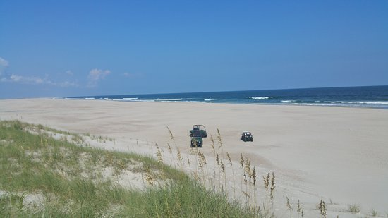 Porstmouth ATV Tours: if there is a better beach I don't know where you'd find it