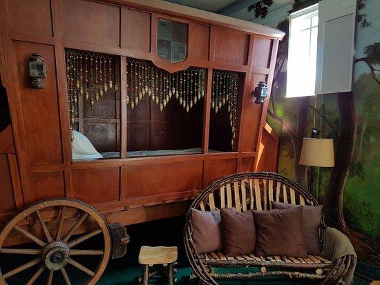 Λος Άλαμος, Καλιφόρνια: Gypsy Suite Bed