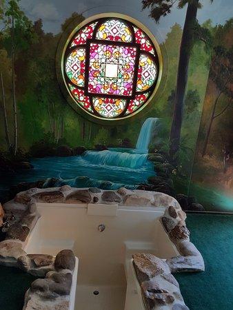 Λος Άλαμος, Καλιφόρνια: Gypsy Suite sunken bath