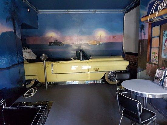Λος Άλαμος, Καλιφόρνια: 1950s Suite - Chevy Bed