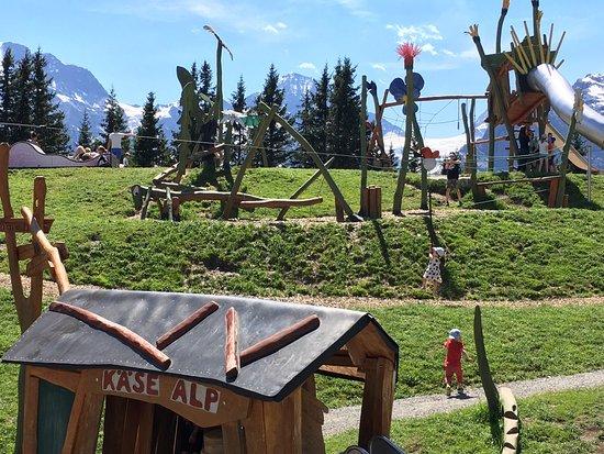 Murren, Sveits: Best playground in the world!