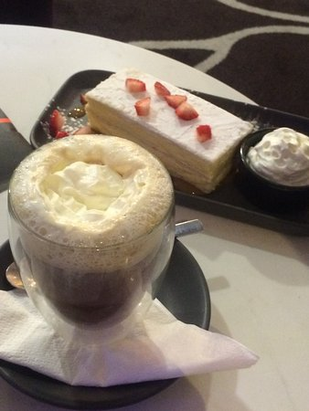 The Bistro Grill: Irish Coffee & Dessert