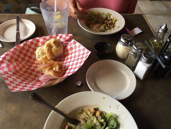 Bastrop, TX: Tossed salads