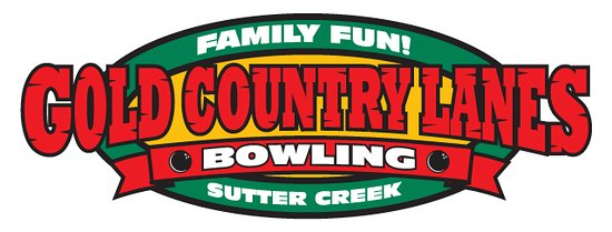 Sutter Creek, CA: Gold Country Lanes Logo