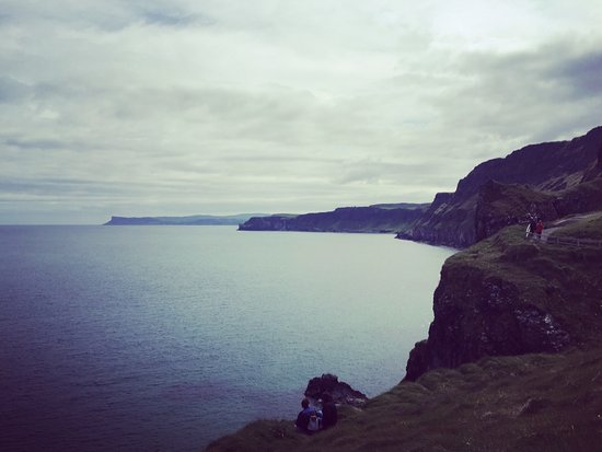 Ballintoy, UK: The view from the other side