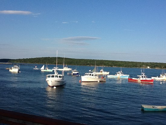 Harpswell, ME: View of the cove