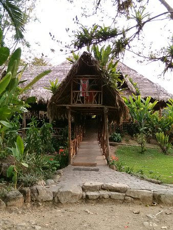 Province of Puntarenas, Costa Rica: Entrance to the main lodge
