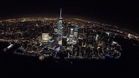 Passion Airplane Tours NYC Night Flight