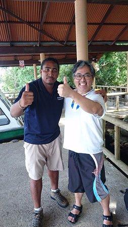 Tortuguero, Κόστα Ρίκα: Nosso guia Kevin da empresa Jungle Tom