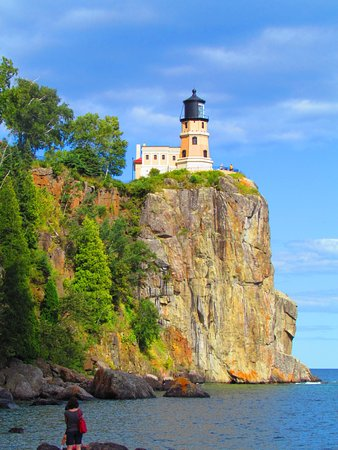 Two Harbors, MN: view from the rocks