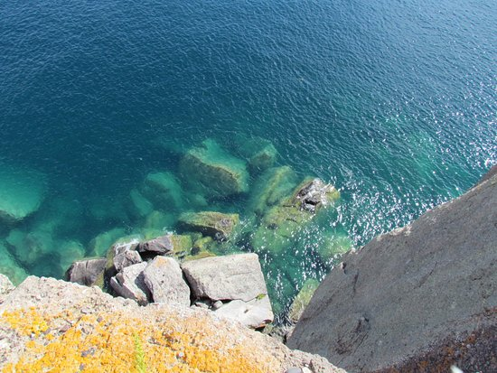 Two Harbors, MN: looking down