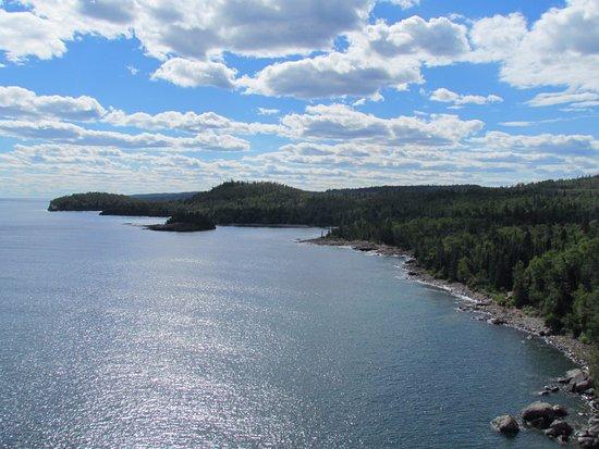 Two Harbors, MN: scenic view