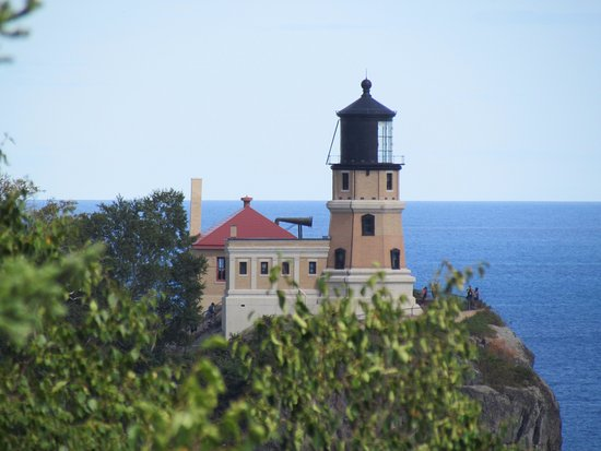 Two Harbors, MN: lighthouse