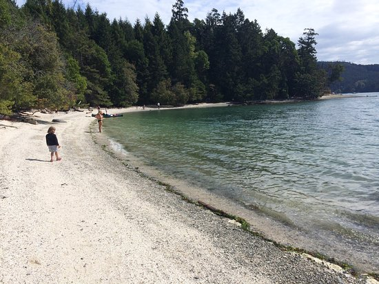 Best Camping Galiano Island