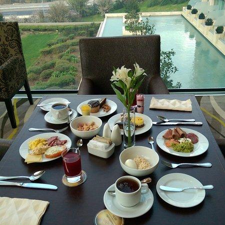 San Francisco de Mostazal, Chile: Desayuno.