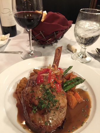 The Copper Door: Veal Chop
