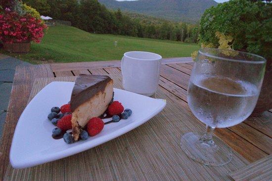 Chittenden, VT: Peanut Butter Cheesecake