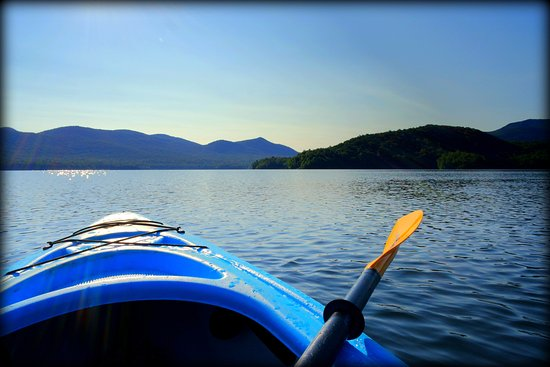 Chittenden, VT: Kayaking on lake