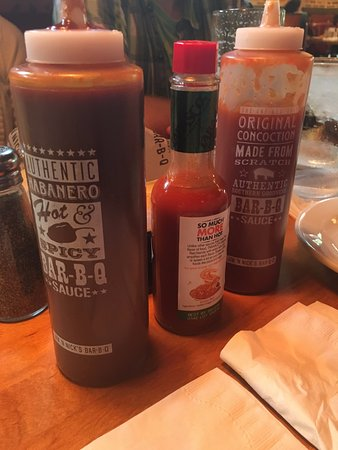 Jim N' Nick's Bar-B-Q: Sauces