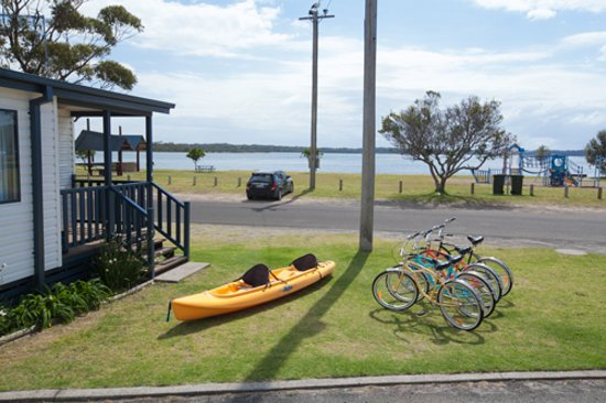 Greenwell Point, Australië: Bike, Boat & Kayak Hire Also Available