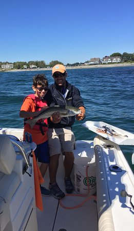 Kennebunkport, ME: Capt Ben & the young fisherman