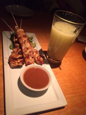 Edina, MN: Chicken satay