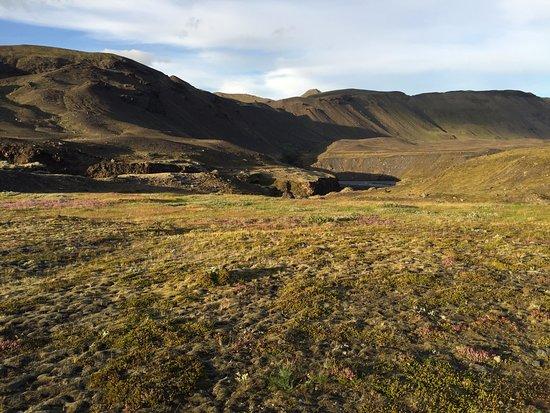 Hvolsvollur, Island: Scene from the hike