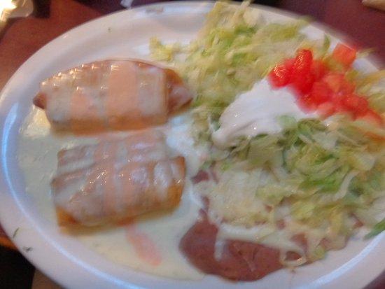 Kokomo, Индиана: Seafood chimichanga