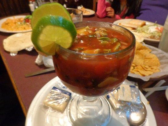 Kokomo, Индиана: Shrimp cocktail