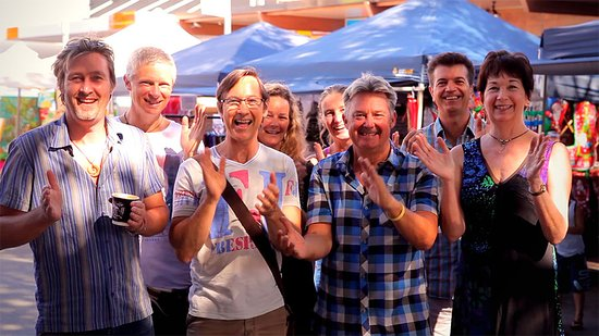 Caloundra, Australia: Over 200 stallholders