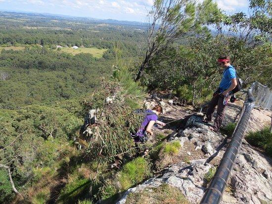 Tewantin, Australia: Abseiling