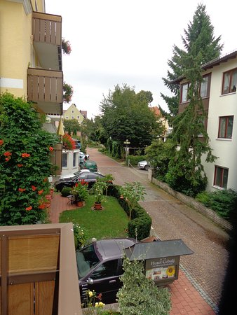Hotel Cebulj: View from our balcony