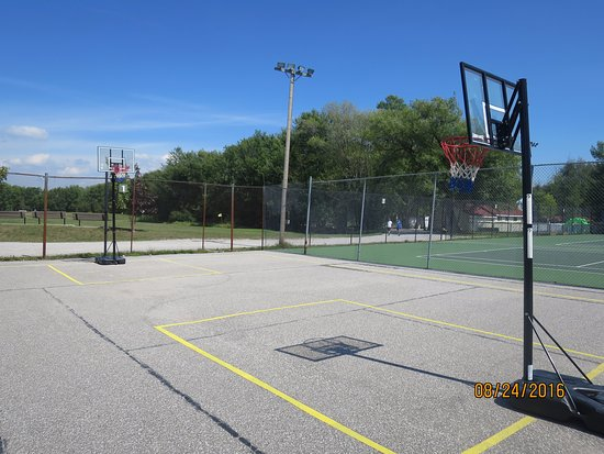 Fern Resort: Basketball court