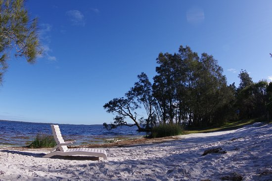 Myall Lakes National Park, Australia: Water front viwe