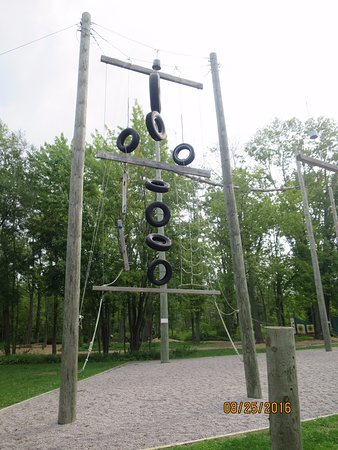 Orillia, Kanada: Climbing structure for kids