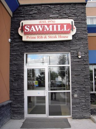 East Entrance of the Sawmill in Cold Lake