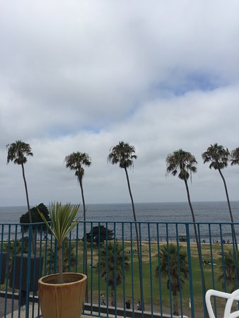 La Jolla Cove Suites: View from the balcony