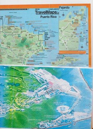 maps - Picture of El Conquistador Resort, A Waldorf Astoria Resort Puerto Rico Hotel Map on