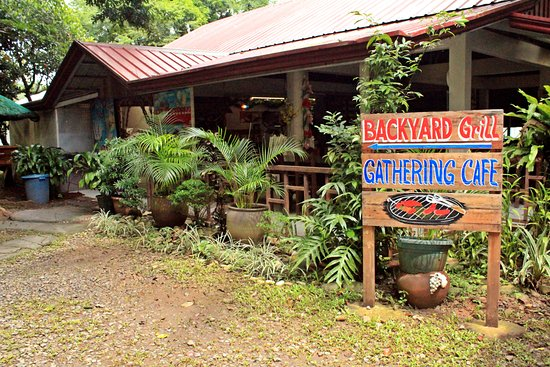 The Gathering Cafe: Outside the cafe
