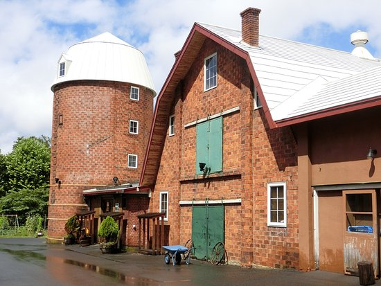 Mitani Farm Cattle Barn Silo