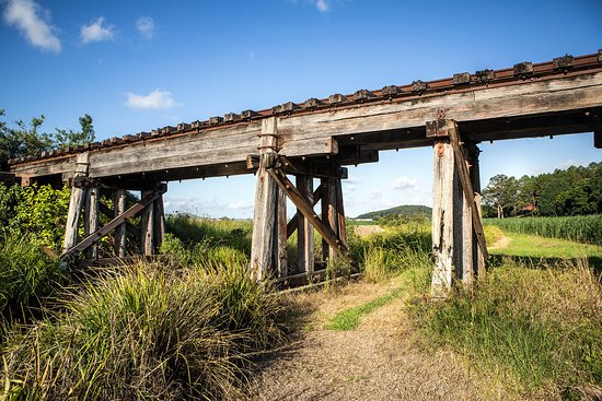Murwillumbah, Australia: Railway Bridges in the Tweed Valley