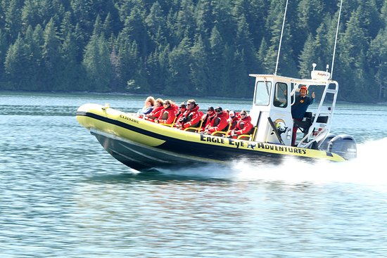 Campbell River, Kanada: One of our tour boats