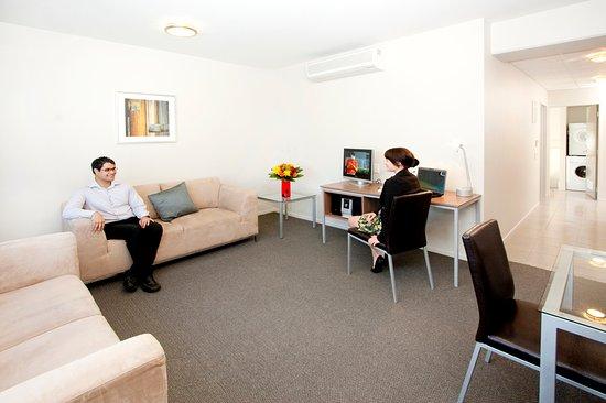 Palmerston North, Nueva Zelanda: Executive One Bedroom Apartment with Spa