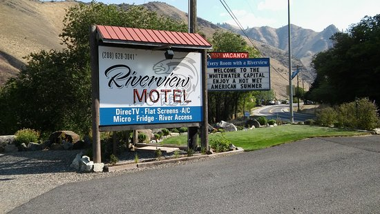 Riggins, ID: The sign