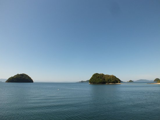 Suooshima-cho, Ιαπωνία: 小さな無人島がたくさん点在
