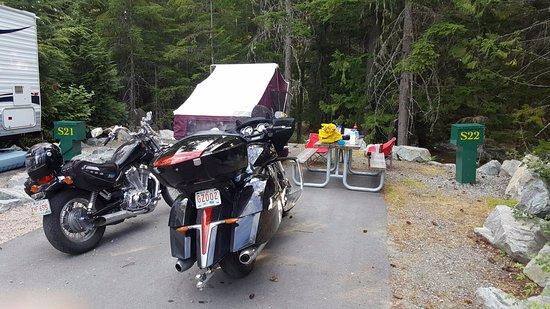 Riverside Resort Whistler : campsite