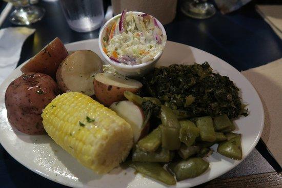 Shrimp Basket: Plat de légumes