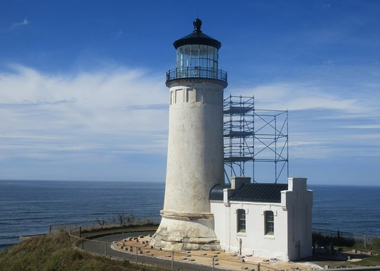 Ilwaco, WA: North Head Lighthouse, Cape Disappointment, Ilwaca, Washington