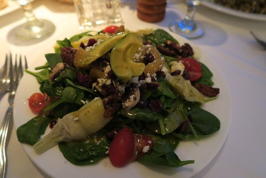 Nottoway Plantation Resort: Salade avocat