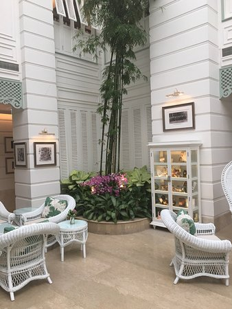 Mandarin Oriental, Bangkok: Room for high tea
